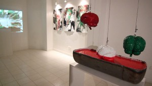Green White Red exhibition at Sazmanab Platform for Contemporary Arts