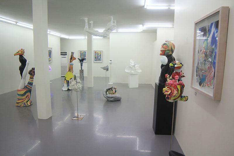 No-mind exhibition at Etemad gallery